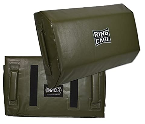 KRAV MAGA Tombstone/Multi Angled Striking Shield - Marine Green Color - Cage Shield
