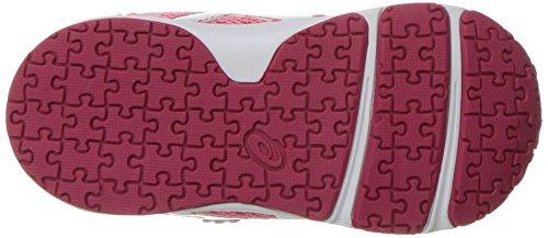 ASICS Girls School Yard TS Running Shoe, Rose Pink/White, 5 M US Toddler