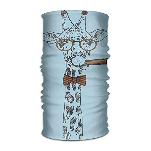 Ashley Lauren Mia Magic Headwear Giraffe Outdoor Scarf Headbands Bandana Mask Neck Gaiter Head Wrap Mask Sweatband,Unique design