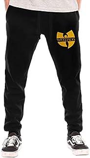 ZOE-SHOP WuTang Mens Elastic Waist Casual Baggy Harem Pants Loose Lounge Trousers