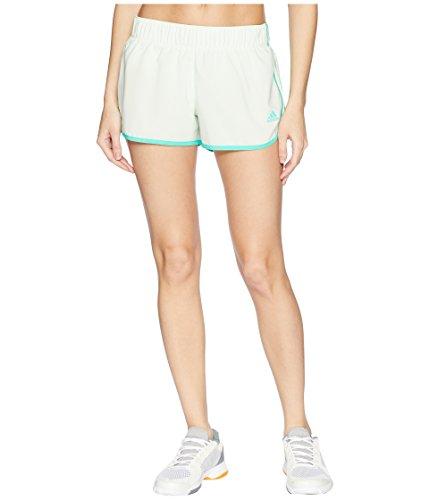 adidas Women's M10 Icon Short Aero Green/High-Res Green Large 3 3