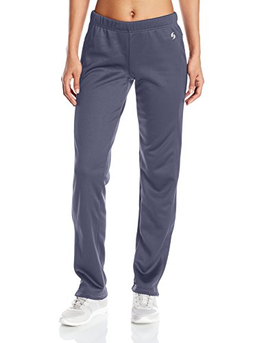Soffe Women's Juniors Tech Fleece Pant, Gun Metal, Small