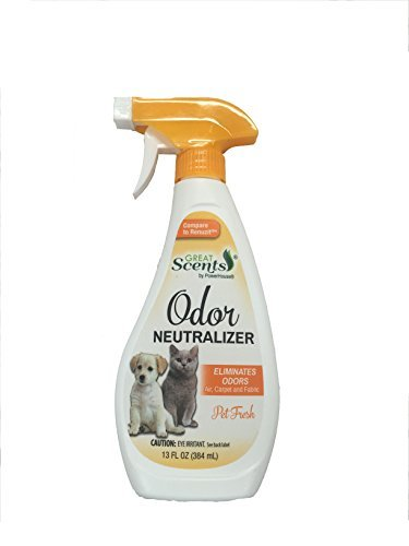 PowerHouse Pet Odor Neutralizer with Trigger Spray, 13 Ounce by - Odor Ounce Neutralizer 13