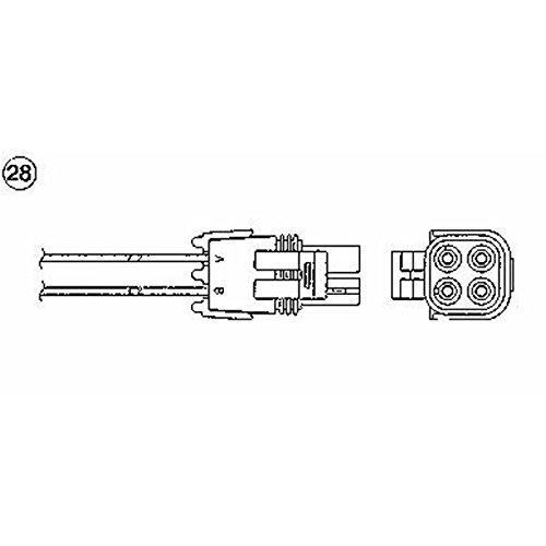 NGK 91173 Lambda-Sensor OZA695-EE2