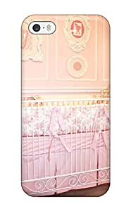 Demi Lovato Case's Shop 9039580K27169877 Top Quality Rugged Pink Baby Girl Crib Case Cover For Iphone 5/5s