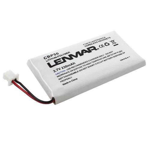 Lenmar Replacement Battery for Plantronics CS-50 CS50-USB CS-55 CS-60 Replaces OEM Avaya AWH-55 Plantronics 64327-01 64399-01 65358-01 PL-64399-01
