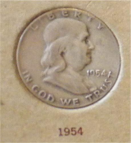 1954 Franklin Half Dollar Very Good ()
