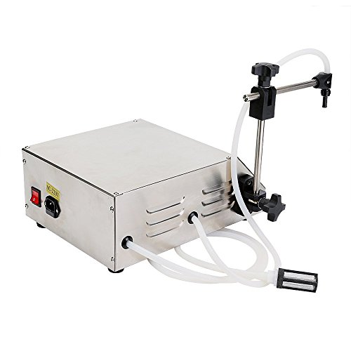 Hengwei Automatic Digital Liquid Filling Filler 2-3500ML Digital Control Pump Drink Water Liquid Filling Machine GFK-160 Automatic Bottle Filler by Hengwei (Image #7)