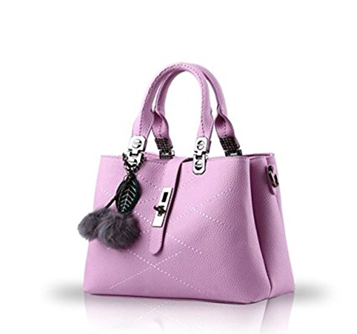 Whoinshop, Borsa a mano donna Purple