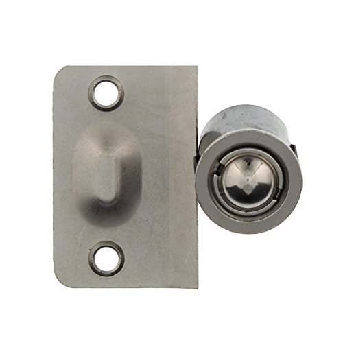 Elba Product Closet Door Ball Catch Drive-In With Catch (Strike Plate), Door Hardware in Satin Nickel, Durable Simple Installation (1 Pack) (Curtains Cheap Vancouver)