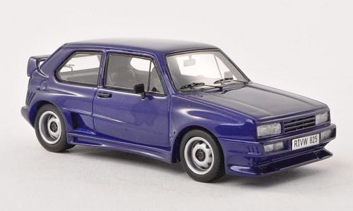 Golf Rieger Vw - VW Golf I Rieger GTO, metallic-purple, 1980, Model Car, Ready-made, Neo 1:43