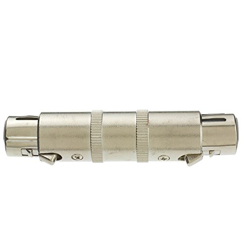 ACL XLR Coupler/Gender Changer Metal XLR Female, 20 Pack by ACL