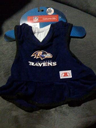 super popular 50a43 c55b4 Amazon.com: NFL Baltimore Ravens Baby Costume Bib: Baby