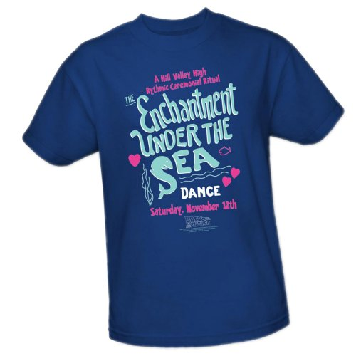 The Enchantment Under The Sea Dance -- Back To The Future Youth T-Shirt, Youth Large