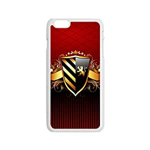 Creative Shield Pattern Custom Protective Hard Phone Cae For Iphone 6
