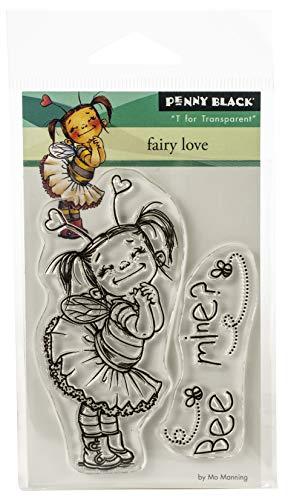 Penny Black PB30530 Mini Clear Stamp Set-Fairy Love 3