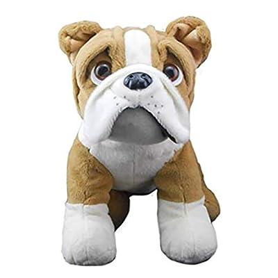 Cuddly Soft 16 inch Stuffed Buddy The Bulldog...We Stuff 'em...You Love 'em!: Toys & Games