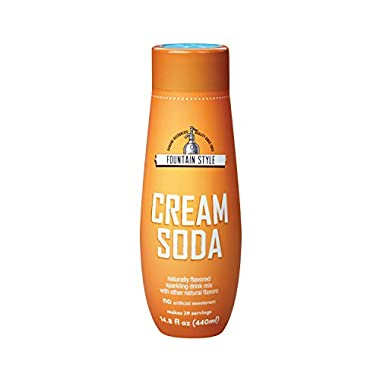 SodaStream Cream Soda Syrup, 14.8 Fluid Ounce