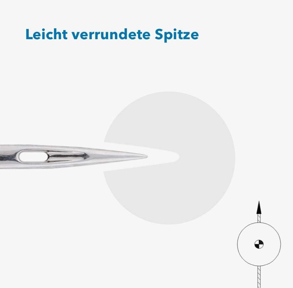 SCHMETZ - Agujas para máquina de coser universales (regular ...