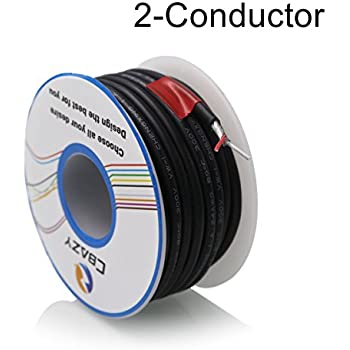 Amazon.com: Shielded 2-Conductor Guitar Circuit Wire hookup wire 6 ...