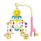 EXERCISE N PLAY Dreamful Bed Ring, Musical Crib Musical...