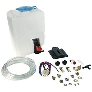 Newgrees Universal Classic Car Parabrisas Lavadora Bomba Botella Bolsa Kit Jet Switch 12V: Amazon.es: Coche y moto