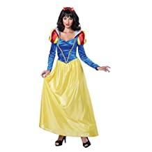 California Costumes Women's Adult Snow White Costume and Wig Bundle