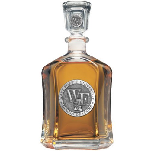 Wake Forest Demon Deacons Capitol Decanter