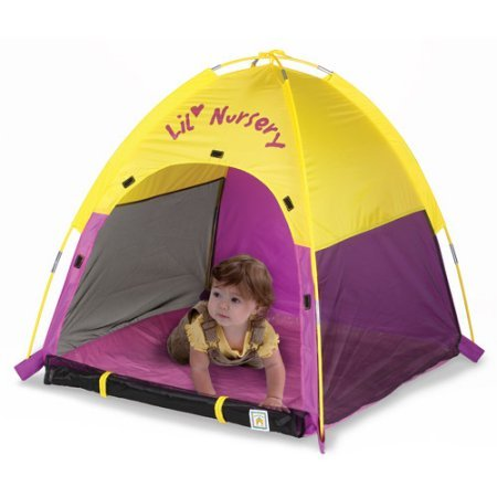Lil' Nursery Tent made with polyester 36.00 x 36.00 x 36.00 Inches