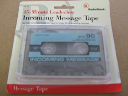 30 Minute Leaderless Incoming Message Tape 43-410
