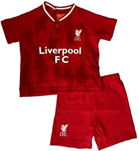 2018//19 Season Official Licensed Liverpool Baby Kit T-Shirt /& Shorts Set 9-12 Months