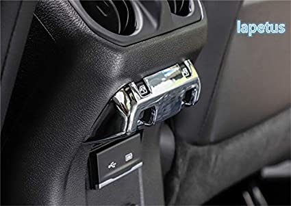 ABS Chrome Car Window Switch Panel Frame Cover Trim 4PCS For Jeep Grand Cherokee 2011-2018