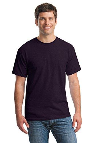 Gildan Heavy Cotton Mens T-Shirt (G5000)-Blackberry (50/50),X-Large