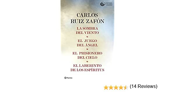 Tetralogía El Cementerio de los Libros Olvidados (pack) eBook ...