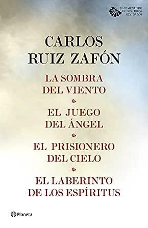 Tetralogía El Cementerio de los Libros Olvidados (pack) eBook: Zafón, Carlos Ruiz: Amazon.es: Tienda Kindle