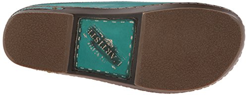 Spring Step Womens Burbank Shoe Turquoise