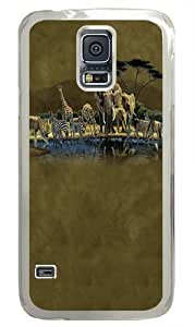 The Gathering Place Wildlife Custom Samsung Galaxy S5/Samsung S5 Case Cover Polycarbonate Transparent