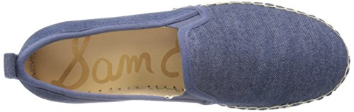 Sam Edelman Women's Carrin Platform Espadrille Slip-on Sneaker Navy Chambray sale fake 3fwL9uB