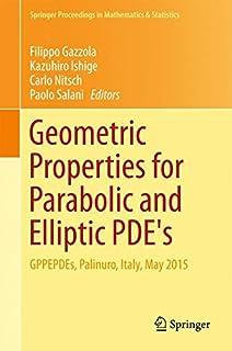 geometric properties for parabolic and elliptic pde s magnanini rol ando sakaguchi shigeru alvino angelo