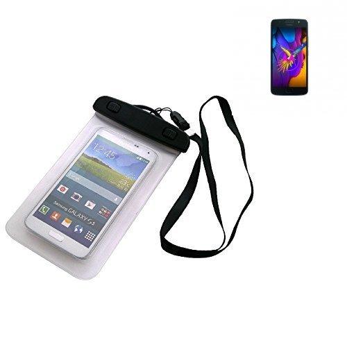 Custodia Cellulare Impermeabile Universale Pollici Waterproof Cover Case per Motorola Moto G5s. Universale Beach Bag / parapioggia / manto nevoso 16 centimetri x 10 centimetri - K-S-Trade(TM)