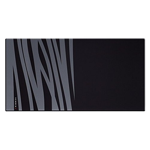 SCHOCK 629046 Waterfall Series Glass Chopping Board, Black by Schock