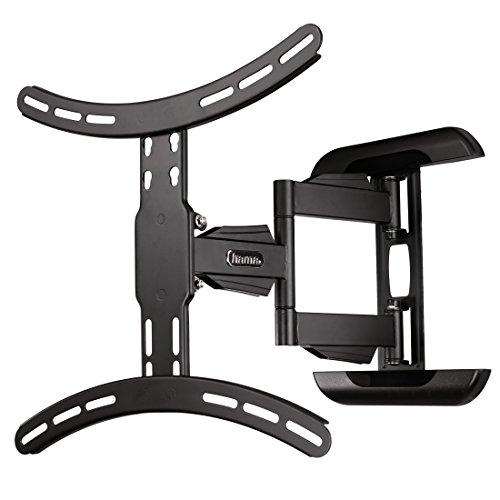 Hama TV-Wandhalterung Fullmotion, neigbar, schwenkbar (vollbeweglich), für 81 - 142 cm Diagonale (32 - 65 Zoll), für max. 25 kg, VESA bis 400 x 400, schwarz