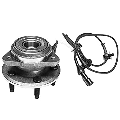 TUCAREST 515003 Front Wheel Bearing and Hub Assembly Compatible 1995-2001 Ford Explorer 01-02 Ford Explorer Sport Trac 97-01 Mercury Mountaineer [4X4 4WD AWD 5 Lug W/ABS]: Automotive