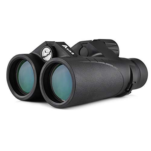 (ZXASDC Telescope Outdoor Eyes 10x42 HD Large Eyepiece BAK-4 Prism Telescope Waterproof for Bird Watching Hunting Wildlife Travel Concert Sports etc)