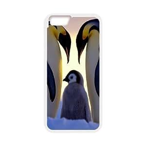 Case Cover For LG G2 Parents Love Penguin Family Case Cover For LG G2 White