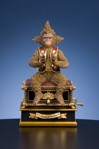 Phantom of the Opera - Monkey with Hand Crank by San Fransisco Music Box Co. (Phantom Of Opera Monkey Box Music The)