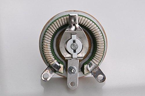 Electr/ónica-sal/ón 50 W 50 OHM leddirect bobinadas potenci/ómetro resistor Variable. reostato