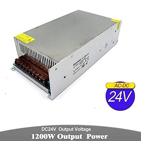 Utini Single Output Power Supply DC 12V 13.8V 15V 18V 24V 27V 28V 30V 32V 36V 42V 48V 120W 200W 360W 500W 600W 800W 1000W 1200W SMPS Output Voltage: 18V, Power: 600W, Input Voltage: 110//220V/±15/%