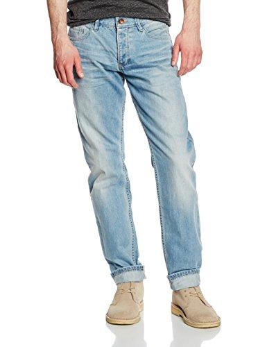 Q/S designed by Herren Straight Leg Jeanshose 5 - Pocket, Gr. W33/L32 (Herstellergröße: 33), Blau (denim 54Y6)