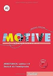 Motive A1: Kompaktkurs DaF.Deutsch als Fremdsprache / Arbeitsbuch, Lektion 1-8 mit MP3-Audio-CD,